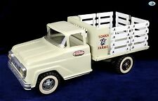 Awesome 1961 Vintage GMC Tonka Farms Beige and White Truck Toy