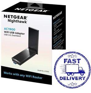 """NETGEAR """"Nighthawk"""" AC1900 WiFi USB Adapter USB 3.0 Dual Band (A7000)"""