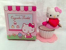 NEW Sanrio Hello Kitty Cupcake Trinket box Collectible