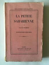LA PETITE SAHARIENNE 1951 PALUEL MARMONT ILLUSTRE MIXI BEREL