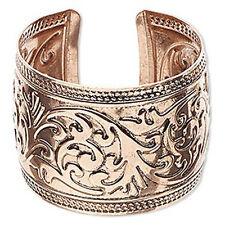 "Western Jewelry Copper Plated  Engraved  1 3/4"" Wide Cuff Bracelet"