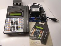RBS Worldpay 114708 Hypercom Credit Card Machine COMPLETE WITH MANUALS