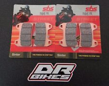 Ducati 848 2008 2009 2010 SBS Race Sintered Front Brake Pads 706RS