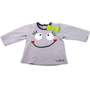 TUC TUC ♥  Baby Mädchen Set 2-tlg. Shirt und Leggings GLITZERHERZEN grau Gr. 80