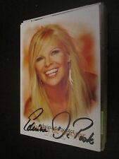 29916 Edwina de pooter MUSICA TV film originale con firma autografo cartolina