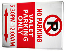 Tin Sign Garage  No Parking