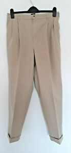 """preowned cotton traders beige colour chino trousers  32"""" W -29"""" free shipping"""
