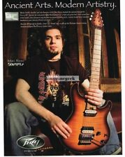 2007 PEAVEY HP Special  Electric Guitar MARC RIZZO of Soulfly Vtg Print Ad