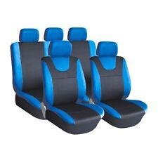 KIA Rio Halton Black//Navy Heavy 9 Pce Front//Rear Seat Covers