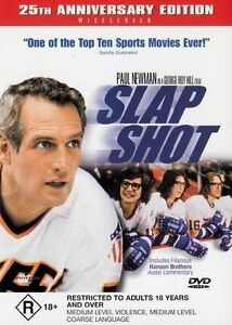 Slap Shot DVD BX1. Great unexpected 70s drama comedy raucous Paul Newman see it