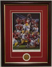 Alabama National Championship all 3 of Daniel Moore's 2011 season framed prints