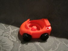 Fisher Price Little People Garage house city vehicle replacement orange car toy