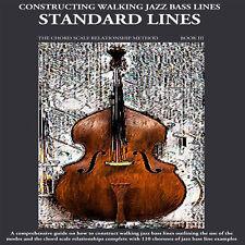 Standard Lines Jazz Bass Book upright/electric