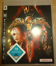 Soul Calibur IV  4 Playstation 3 PS3 Video-Spiel Bluray Disc namco
