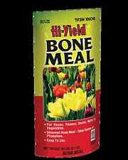 Hi-Yield Bone Meal 20 lb bulb food natural fertilizer phosphorus 0-10-0 rooting