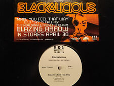 "BLACKALICIOUS - MAKE YOU FEEL THAT WAY / SKY IS FALLING (12"")  2002!!!  RARE!!!"