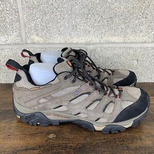 Merrell Mens MOAB Brown Vibram Sole Continuum Hiking Trail Shoes US 12 J88621