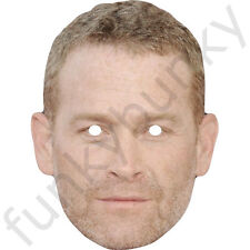 Max Martini Celebrity Card Mask Fifty Shades of Grey. Jason Taylor Pre-Cut ***