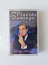 PLACIDO DOMINGO Be My Love Album (Cassette, 1989) TC EMTV 54
