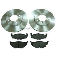 VW LUPO 1.0 1.4 1.7 SDi 1998-2005 FRONT 2 BRAKE DISCS AND PADS SET NEW