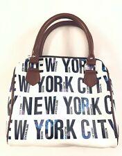Robin Ruth New York White Staten Island Bronx Manhattan Satchel Handbag Purse
