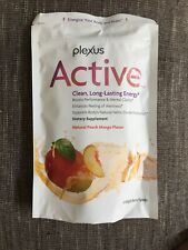 Plexus Active 15 Packets - Natural Peach Mango - New / Sealed! Exp 1/2022