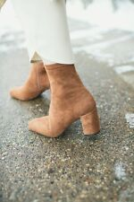 Jeffrey Campbell Cienega Ankle Boot - Taupe size 8 new in box