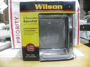 """WILSON NEW 305600CHR CB RADIO 5"""" EXTERNAL SPEAKER CHROME FINISH 10W 4LB"""