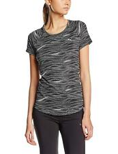 Puma Essential Graphic Dot Print SS AOP T Shirt Black White Ladies UK 10 *REF43