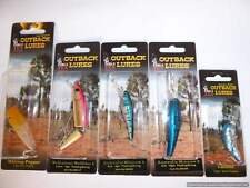 5 x Hard Body Lures, quality Outback lures new