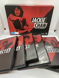 Jackie Chan The Classics DVDs x7 Collectors Gift Set Like New