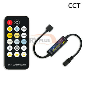 RF LED Strip Accessories Mini 14Key Switch Remote Controller Dimmer RGB Color