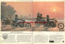 Harley Davidson 1981, 4 Sided Magazine Advert #1607
