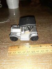 VINTAGE DIE-CAST MINIATURE Model T PAINTED SILVER  Pencil Sharpener IN BOX