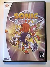 Sonic Shuffle - Sega Dreamcast - Replacement Case - No Game