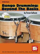 Mel Bay Bongo Drumming/Beyond the Basics Book/2 CD Set-ExLibrary