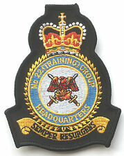 RAF No.22 Training Group Headquarters Royal Air Force Embroidered Official Patch