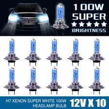H7 BOX 8500K HALOGEN LAMPEN XENON LOOK OPTIK EFFEKT BIRNEN SUPER WHITE 100W DE