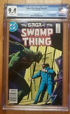 Swamp Thing #21 CGC 9.4 NM Alan Moore Canadian Newsstand Price Variant CPV