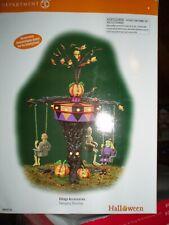 Dept 56 Halloween Village Swinging Ghoulies Nib