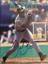 FRANK THOMAS SIGNED BECKETT PSA DNA CERTIFIED AUTOGRAPH WHITE SOX HOF