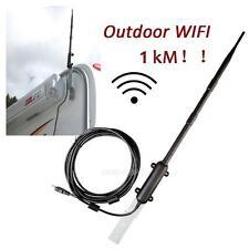 1000M Outdoor High Power Wireless 802.11b/g/n USB 2.0/1.1 Adapter Wifi Rocket