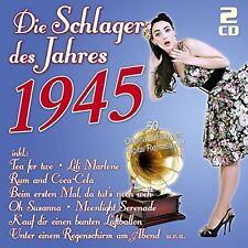 DIE SCHLAGER DES JAHRES 1945 2 CD NEUF