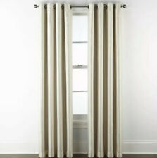 Jcp Home Malone Grommet Panel 50 W x 108 L Ivory Beige