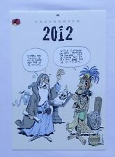 Calendrier SPIROU 2012 - Supplément journal SPIROU - FRANQUIN - BD - DUPUIS