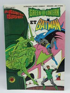 Book Comics The Giants Of Super-Hero Album No ° 5 Artima Dc Super Star 1984