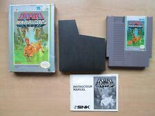 Nintendo NES - Ikari Warriors - BOXED Game - Manual INCLUDED
