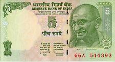 India 2009, 5 Rupias (tipo a.1) (**) UNC
