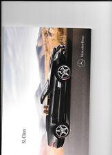 MERCEDES BENZ  SL-CLASS -SL300,350,500,600,63AMG SALE BROCHURE DEC.2010 FOR 2011