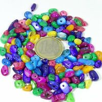 135 Abalorios Multicolor 4-9mm T563C Semi Precious Stone Bracelet Necklace Beads